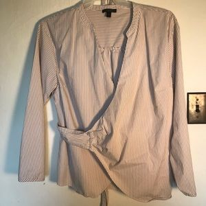 J. Crew crossbody shirt